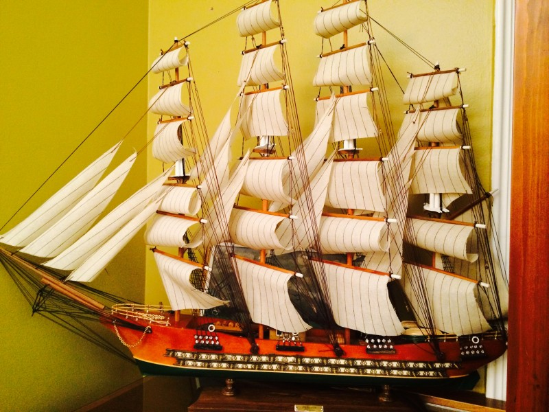 navio veleiro